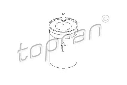 103174 TOPRAN Топливный фильтр