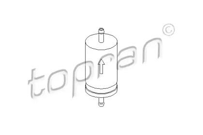 103993 TOPRAN Топливный фильтр