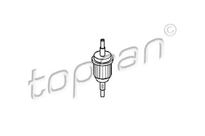 104123 TOPRAN Топливный фильтр