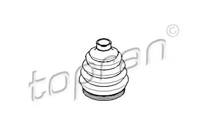 109253 TOPRAN Пыльник, приводной вал