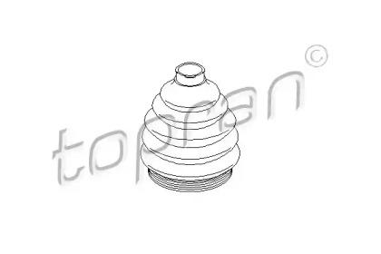 103033 TOPRAN Пыльник, приводной вал