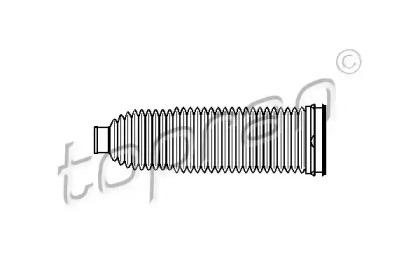 110967 TOPRAN Пыльник, рулевое управление