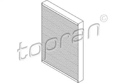 109106 TOPRAN Фильтр, воздух во внутренном пространстве