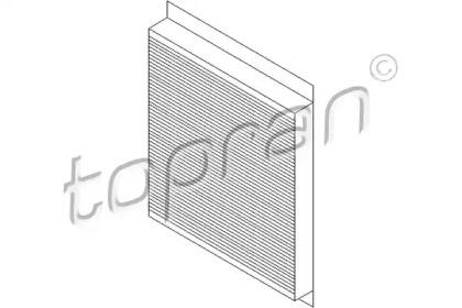 206736 TOPRAN Фильтр, воздух во внутренном пространстве