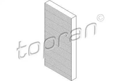 206245 TOPRAN Фильтр, воздух во внутренном пространстве