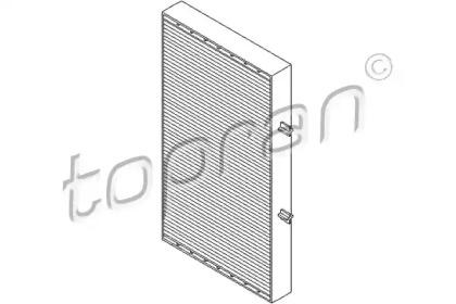 207035 TOPRAN Фильтр, воздух во внутренном пространстве