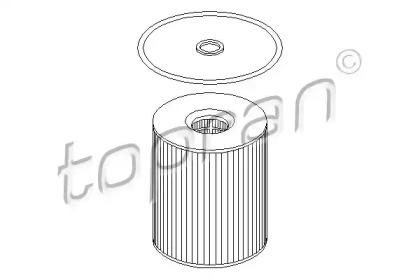 500916 TOPRAN Масляный фильтр
