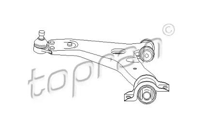 301585 TOPRAN Рычаг независимой подвески колеса, подвеска колеса