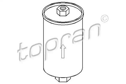300531 TOPRAN Топливный фильтр