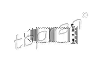 401910 TOPRAN Пыльник, рулевое управление