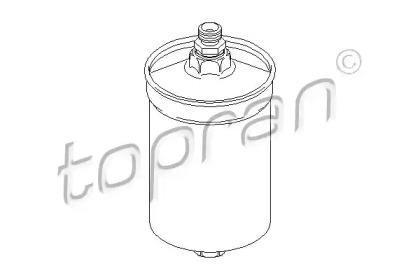 400885 TOPRAN Топливный фильтр