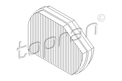 400203 TOPRAN Фильтр, воздух во внутренном пространстве