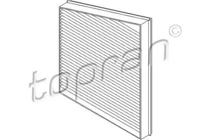 400211 TOPRAN Фильтр, воздух во внутренном пространстве