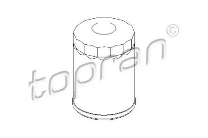 501072 TOPRAN Масляный фильтр