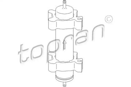 500741 TOPRAN Топливный фильтр