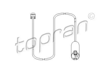 500666 TOPRAN Датчик, износ тормозных колодок