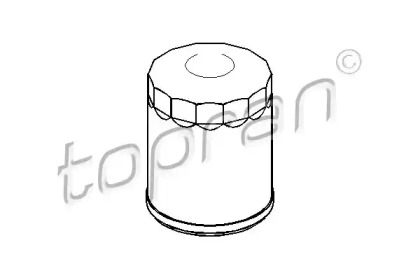 720801 TOPRAN Масляный фильтр
