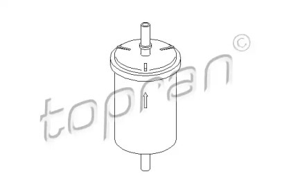 720937 TOPRAN Топливный фильтр