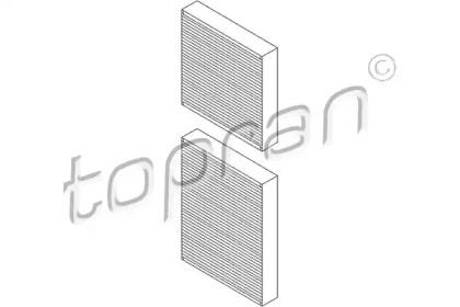 720336 TOPRAN Фильтр, воздух во внутренном пространстве