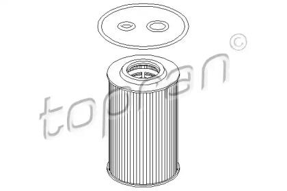 112939 TOPRAN Масляный фильтр