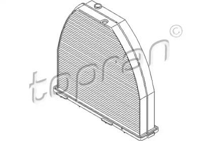 407740 TOPRAN Фильтр, воздух во внутренном пространстве