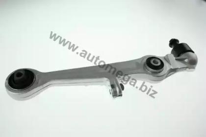 110048510 AUTOMEGA Важіль перед. нижній прямий (внутр. с/б h=50mm) Audi A4, A6, A8 Skoda Super B VW Passat 1.6-4.2 94-08