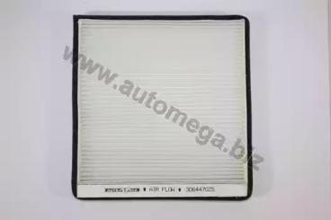 180003910 AUTOMEGA Фільтр салона Citroen Berlingo 96-/Xsara 2.0 97-Xantia 95-