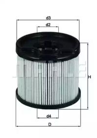 KX87D KNECHT Топливный фильтр