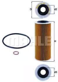 OX368D1 KNECHT Масляный фильтр