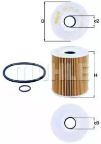 OX156D1 KNECHT Масляный фильтр