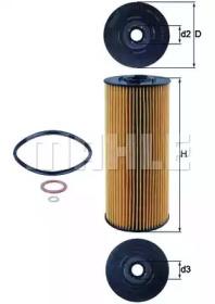 OX137D KNECHT Масляный фильтр