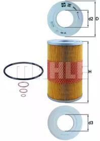 OX44D KNECHT Масляный фильтр
