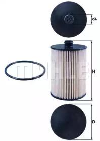 KX226D KNECHT Топливный фильтр