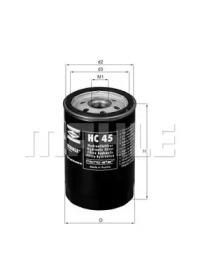 HC45 KNECHT Гидрофильтр, автоматическая коробка передач
