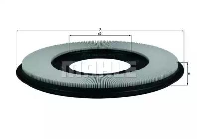 LX556 KNECHT Фильтр воздушный