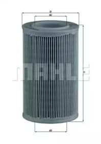 LX55 KNECHT Воздушный фильтр