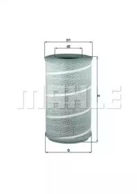 LX6051 KNECHT Воздушный фильтр