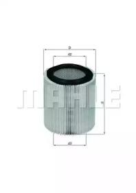 LX898 KNECHT Фильтр воздушный