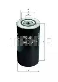 OC35 KNECHT Масляный фильтр