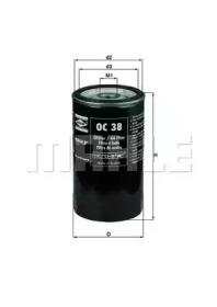 OC38 KNECHT Масляный фильтр