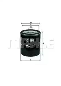 OC198 KNECHT Масляный фильтр