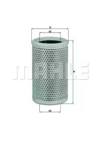 LX911 KNECHT Воздушный фильтр
