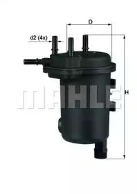 KL632D KNECHT Фільтр паливний Renault Kangoo 1.5DCi 05-
