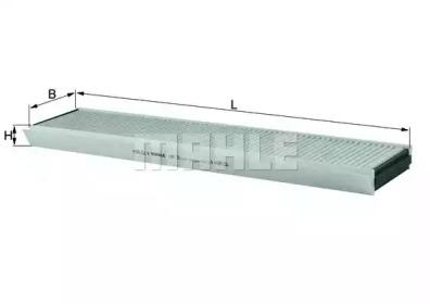 LAK25 KNECHT Фильтр, воздух во внутренном пространстве