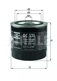 OC131 KNECHT Масляный фильтр