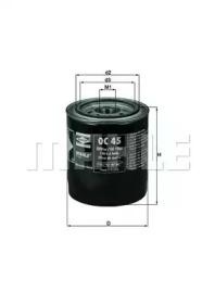 OC45 KNECHT Масляный фильтр