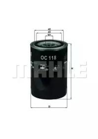 OC118 KNECHT Масляный фильтр