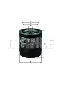 OC123 KNECHT Масляный фильтр