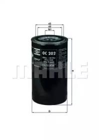 OC202 KNECHT Масляный фильтр