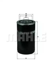 OC320 KNECHT Масляный фильтр